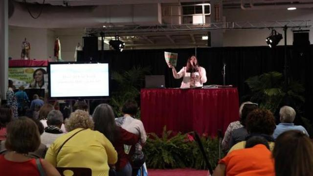 Coupon Class at The Southern Women's Show in 2014