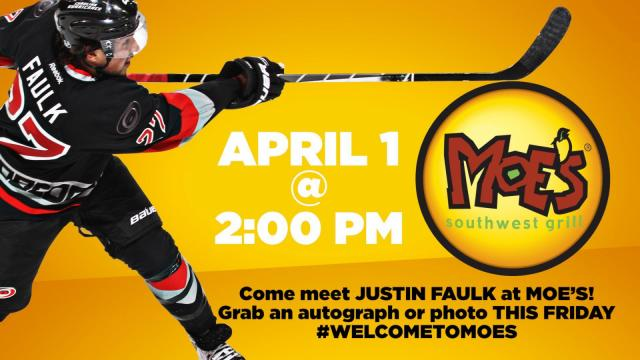 Carolina Hurricanes Moe's event