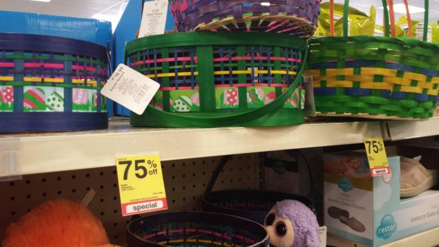 CVS 75% off Easter clearance