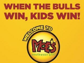 Moe's Durham Bulls promotion