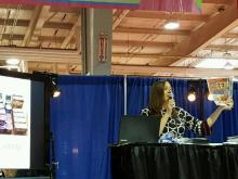 Teaching at the Southern Women's Show 4-22-2016