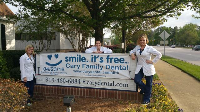 Cary Family Dental Fifth Annual Dentistry From The Heart Event