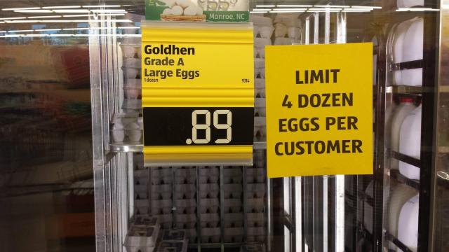 Aldi egg sale