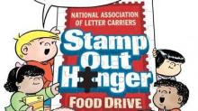 IMAGE: Stamp Out Hunger food drive TODAY!