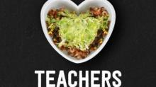 IMAGE: Chipotle Teacher Appreciation BOGO