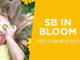 Swagbucks May Three for All: SB In Bloom