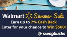 IMAGE: Walmart Summer Swagbucks Offer