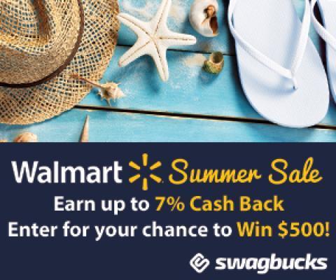 Walmart Summer Swagbucks Offer :: WRAL com