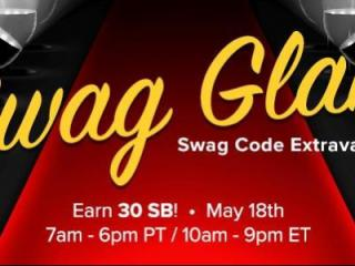 Swag Glam Swag Code Extravaganza on May 18, 2016