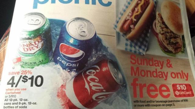 Target soda sale