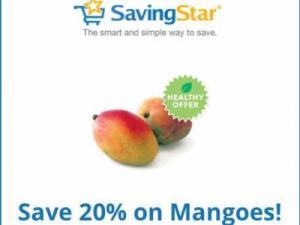 Savingstar discount on mangoes