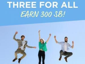 Swagbucks Three For All June