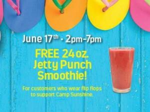 Tropical Smoothie Cafe Flip Flop Day