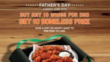 IMAGE: Updated: Father's Day freebies and offers