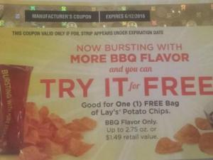 Lay's expired coupon