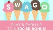 IMAGE: Play SWAGO and earn a 300 SB bonus