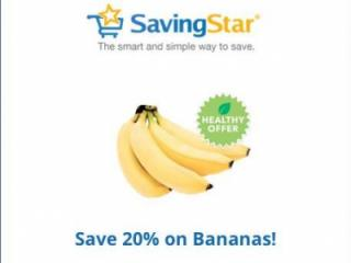 Savingstar Bananas offer