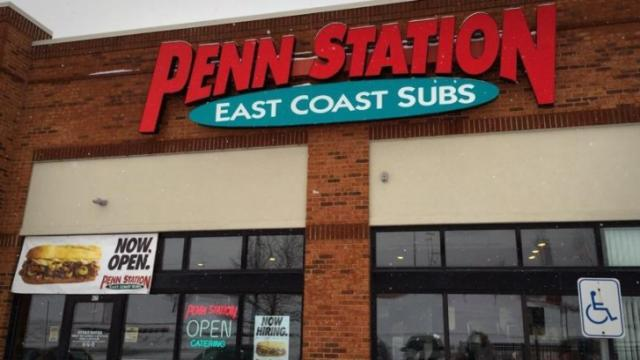 Penn Station East Coast Subs Image credit: Penn Station East Coast Subs | Facebook