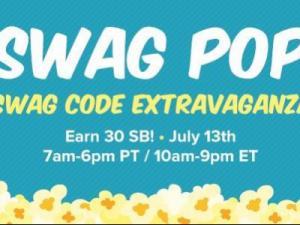 Swagbucks Swag Pop Extravaganza