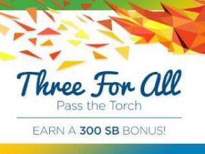 Swagbucks Three For All Pass the Torch August 2016