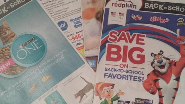 Coupon inserts 8-7-16