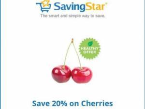 Savingstar Cherries offer
