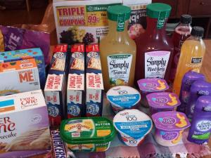 Harris Teeter Triples deals for only $5.40!