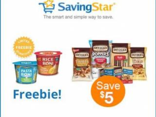 Savingstar freebie offer