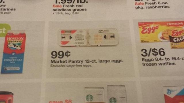 Target egg sale
