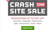 IMAGE: Groupon sale: Up to 80% off through today