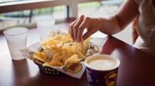 IMAGE: Moe's FREE Queso and Chips TODAY!