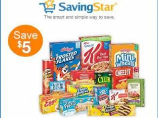 Savingstar Kellogg's offer