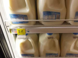 Kroger milk sale