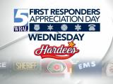 Hardee's First Responders free meal
