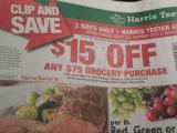 Harris Teeter coupon in ad 9-28-16