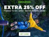 Groupon 25% off