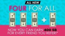 IMAGE: Swagbucks $4 bonus when you join