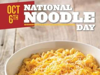 Noodles & Company National Noodle Day offer