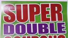 Harris Teeter Super Doubles poster