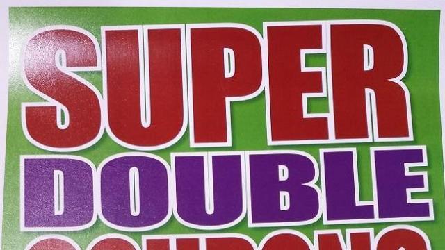 Harris Teeter Super Doubles poster