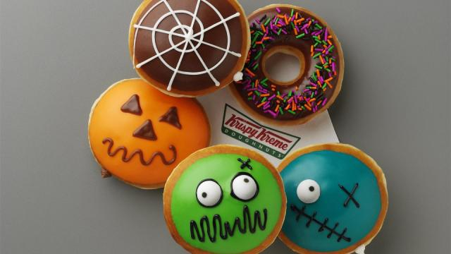 Krispy Kreme Halloween doughnuts (photo via KrispyKreme.com)