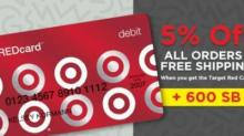 IMAGE: Target RedCard offer from Swagbucks