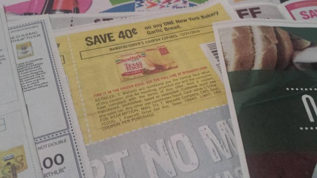 New York Garlic Bread coupon