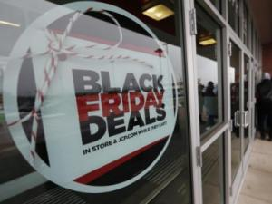 Black Friday Deals sign