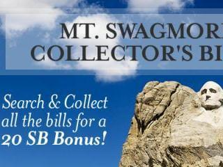 Swagbucks Mt. Swagmore Collector's Bills
