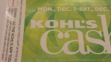 IMAGE: Kohl's coupon: $10 off $25 through today