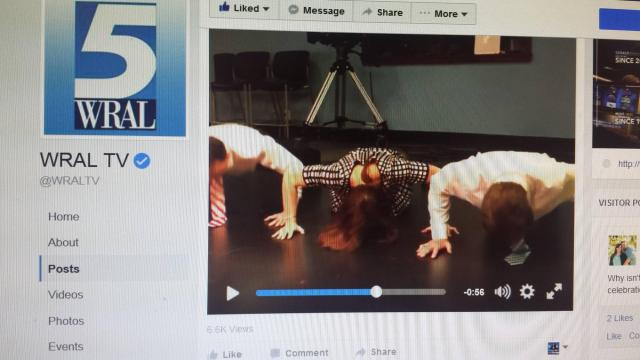 Push-Up Challenge with Bill, Brian and Faye