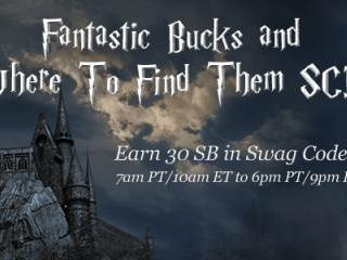 "Swagbucks ""Fantastic Bucks and Where to Find Them"" Swag Code Extravaganza"