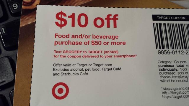 Target coupon 11/16/16