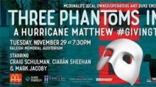 IMAGES: Winner of Three Phantoms Concert tickets & McDonald's coupons